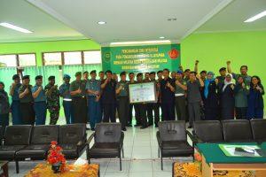 Pencanangan Zona Integritas Pengadilan Militer III-19 Jayapura
