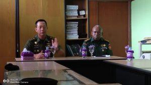 Kunjungan Kerja Kababinkum TNI ke Oditurat Militer IV-20 Jayapura dan Dilmil III-19 Jayapura