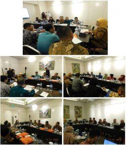 Duduk Bersama, Seluruh Peserta Rapat Koordinasi Bahas Jalan Keluar seluruh Permasalahan-permasalahan di Lingkungan Peradilan Militer dan Peradilan Tata Usaha Negara