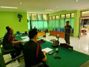 SIDANG PUTUSAN PERKARA DESERSI PADA PENGADILAN MILITER III-19 JAYAPURA