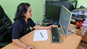 Seleksi Bahasa Inggris secara Daring yang dilaksanakan Pusdiklat Mahkamah Agung RI bekerja sama dengan Lembaga Bahasa LIA Pajajaran Bogor.