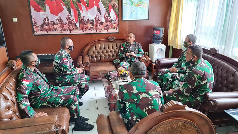 Kunjungan Kerja dari Pangdam XVII/Cendrawasih Mayor Jenderal TNI Ignatius Yogo Triyono