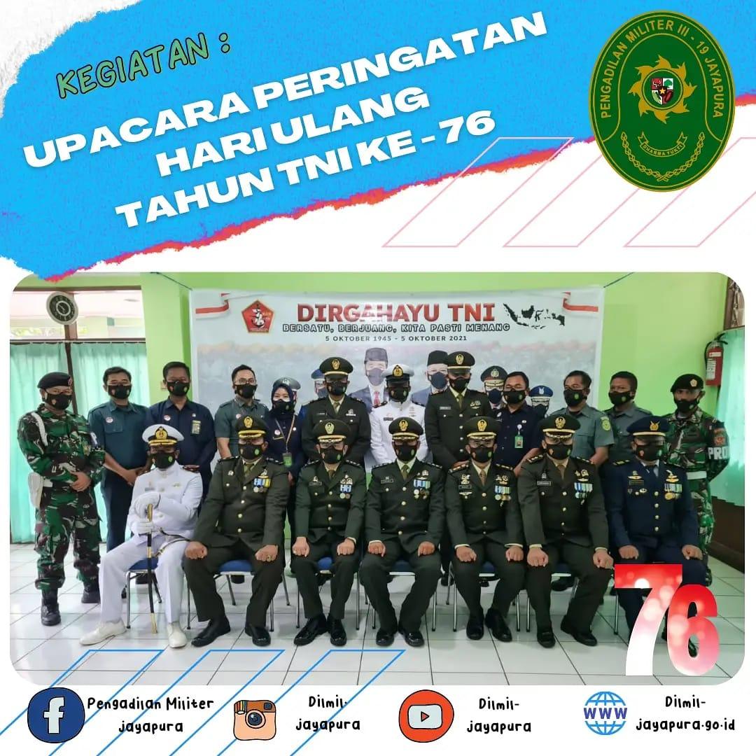 Peringatan Hari Ulang Tahun TNI ke-76