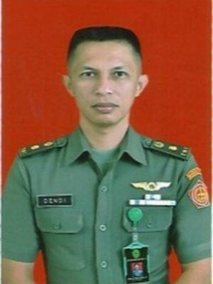 Hakim Militer Mayor Chk Dendi Sutiyoso Suryo Saputro, S.H