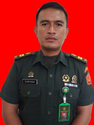 Panmud Pidana Lettu Chk Ahmad Suryadi, S.H.
